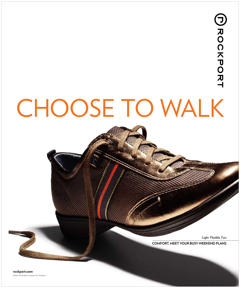 Rockport Shoes Ad