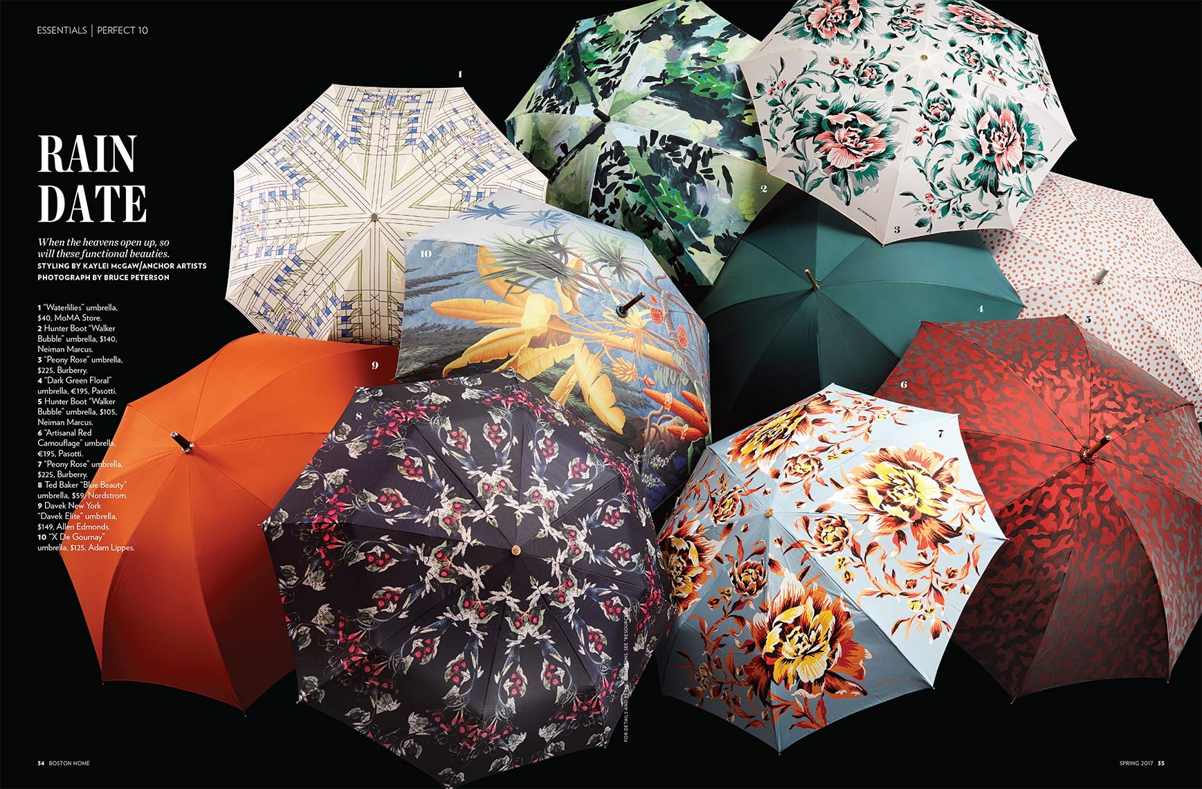 Boston Home Umbrellas