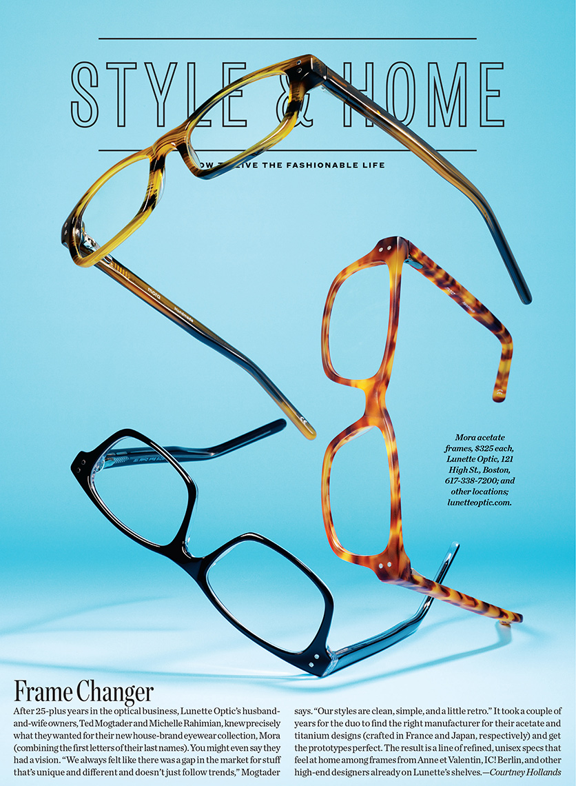 Boston Magazine Glasses