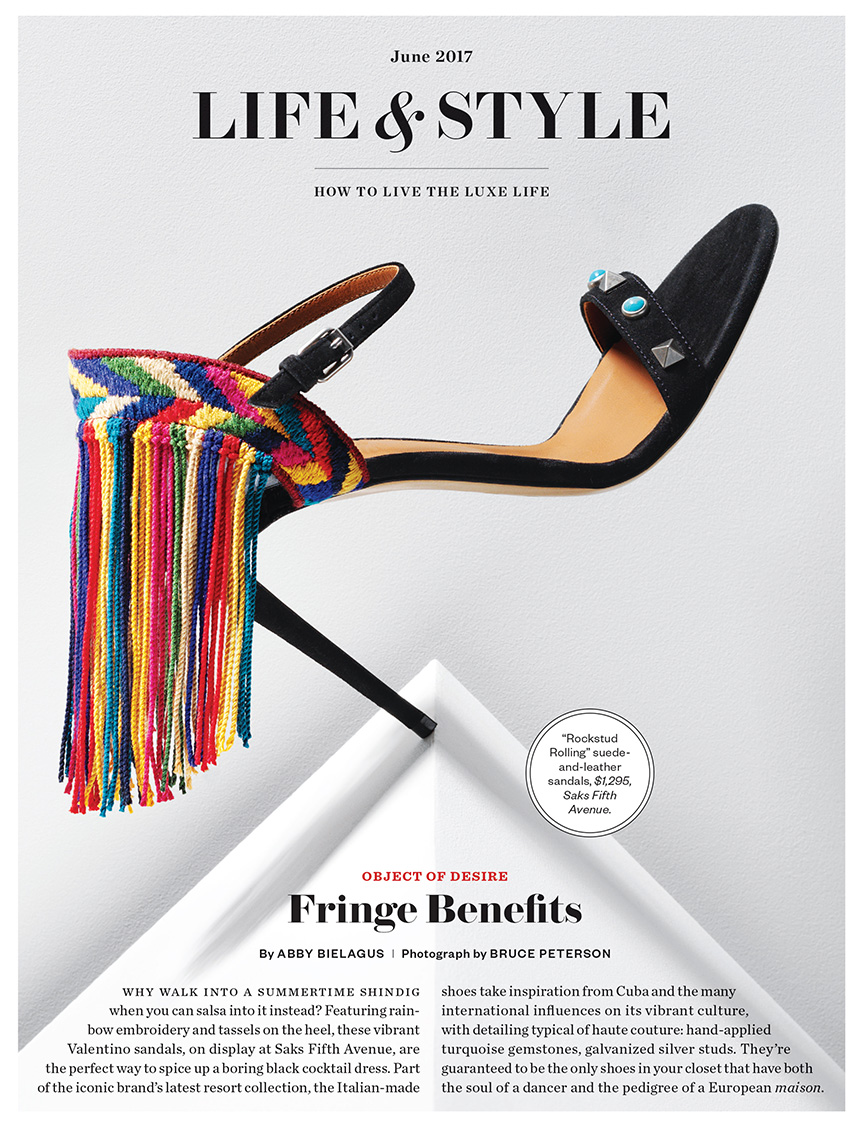 Boston Magazine Shoe