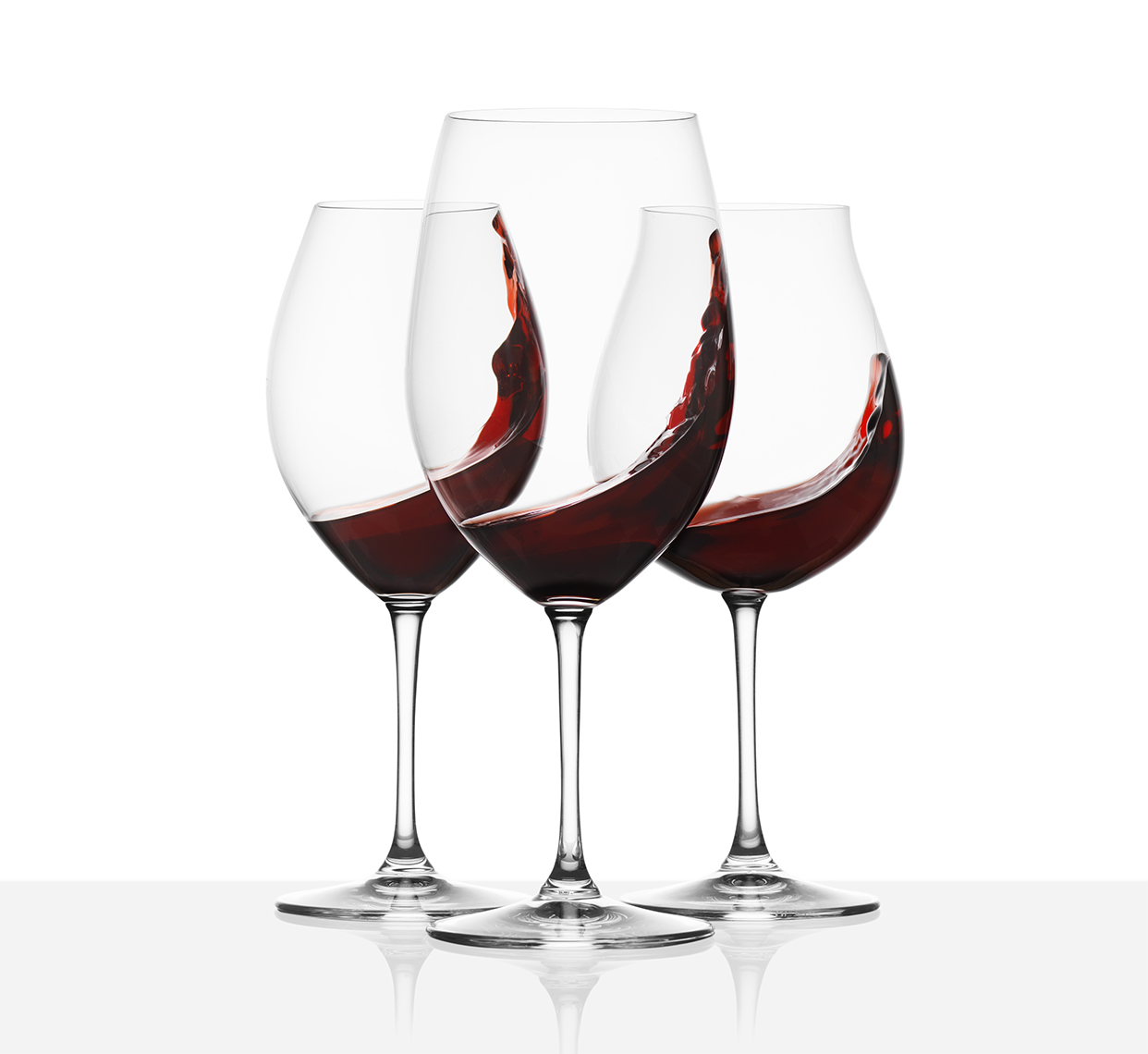 Riedel wine glasses splash