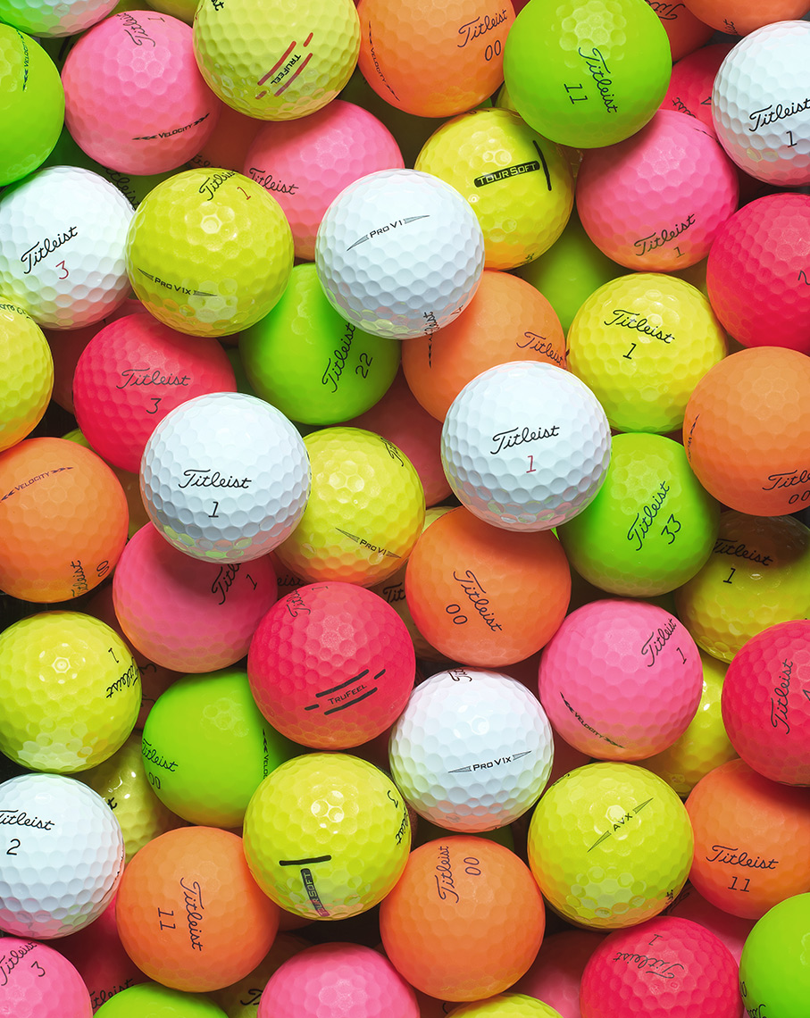 Titleist-Colored-Balls