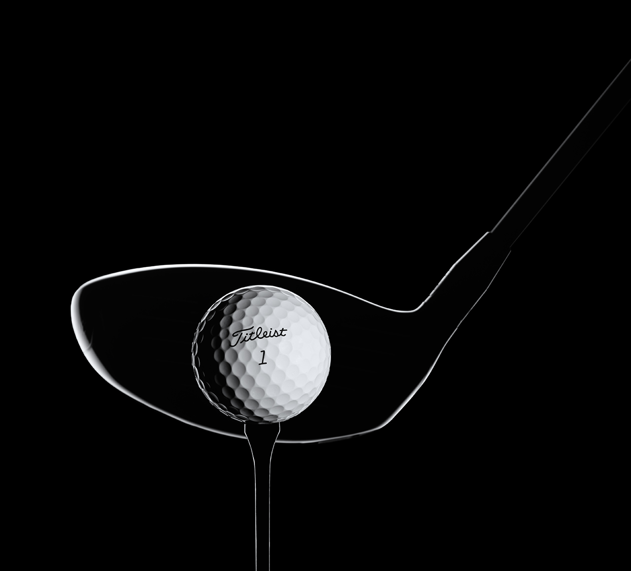Titleist driver and ball