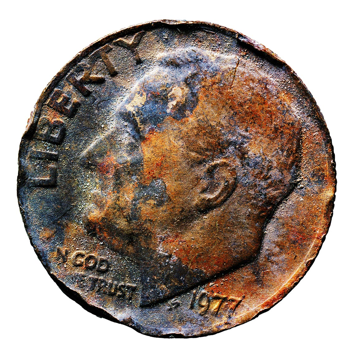 Distressed Dime