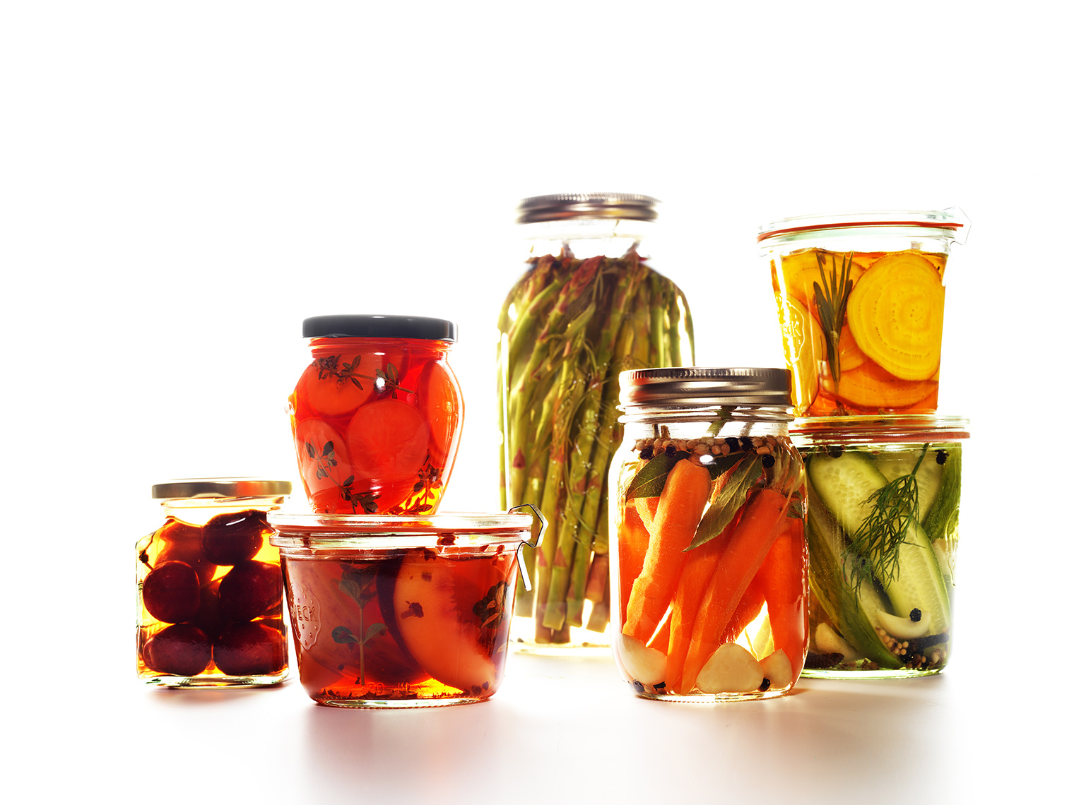 Pickled Food Jars
