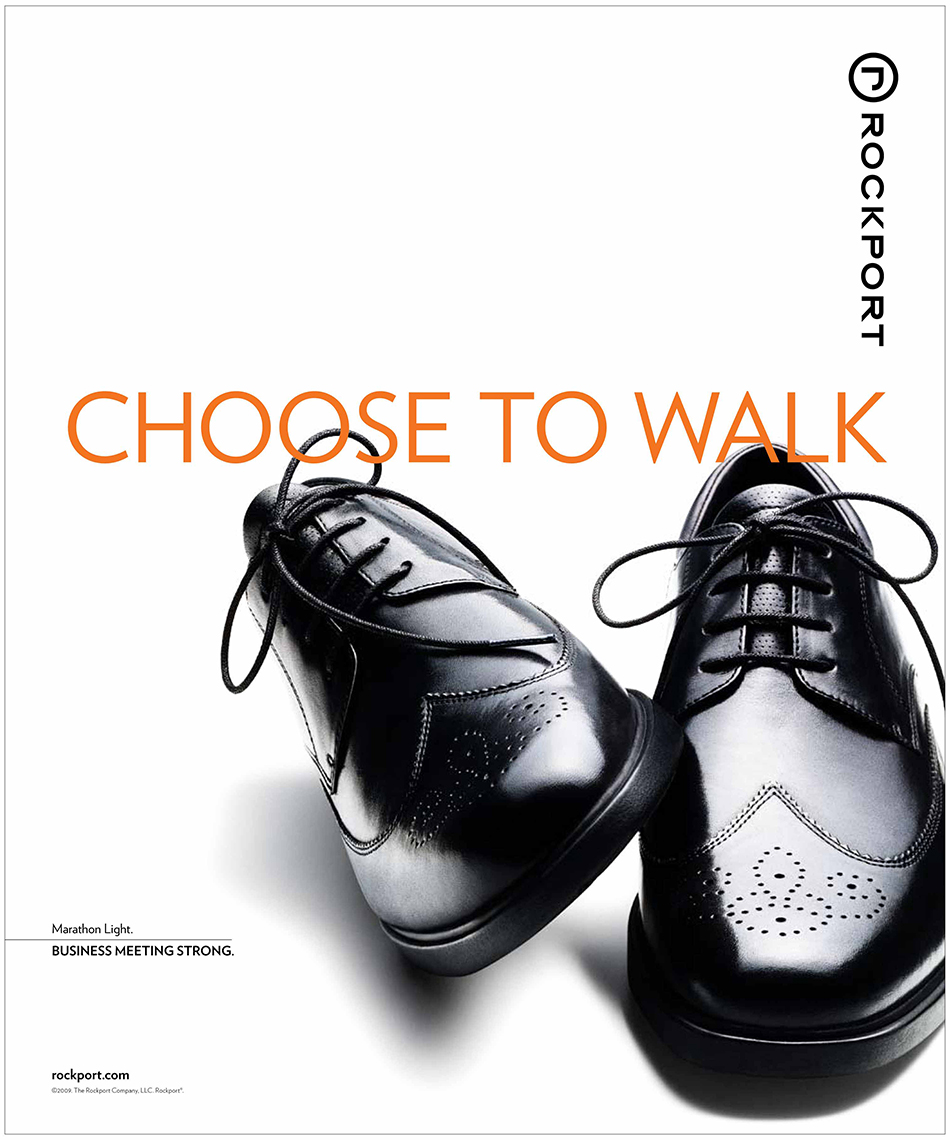 Rockport Shoes Print Ad