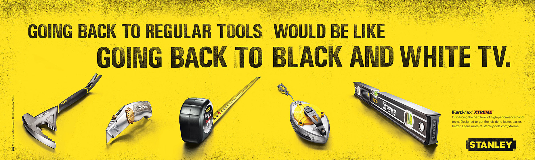 Stanley Tools Print Ad